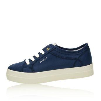 Gant dámské stylové textilní tenisky - modré
