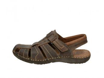 Girza pánské pohodlné sandály - hnědé