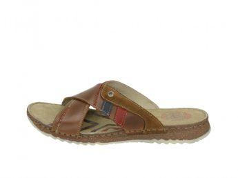 Girza pánské stylové pantofle - hnědé