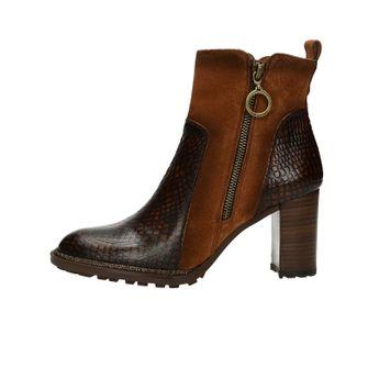 a42170e7e350 Hispanitas dámské stylové kotníkové boty na vysokém podpatku - koňakové