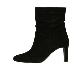 Högl dámské kožené kotníkové boty - černé b9d1e62542