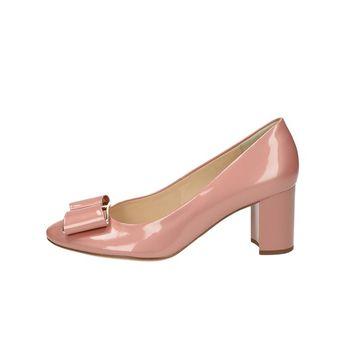 Högl dámské kožené lodičky - růžové 7d74ea2ddb