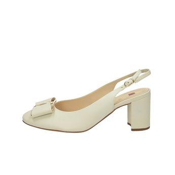 Högl dámské kožené sandály s řemínkem - béžové 2f3edd6261