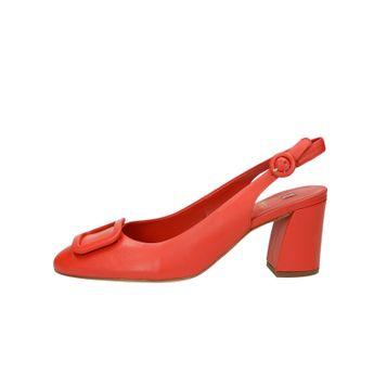 b57b48e114a Högl dámské kožené stylové sandály - červené