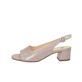 b74fe2a3b8 Högl dámské lakované kožené sandály - růžové