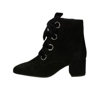 3cf8f401751 Högl dámské semišové kotníkové boty na zip - černé