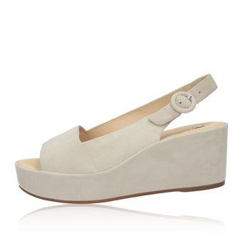 903f6a8983 Högl dámské semišové sandále na klinovej podrážke - růžové