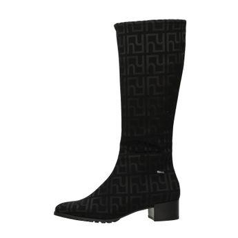 Högl dámské stylové vysoké kozačky - černé