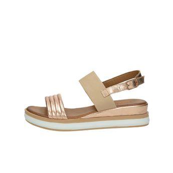 Inuovo dámské stylové sandály - bronzové