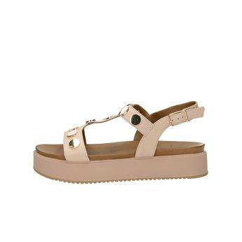 Inuovo dámské stylové sandály s řemínkem - růžové