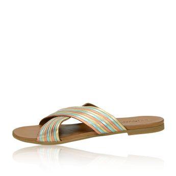 Inuovo dámské stylové nazouváky - vícebarevné