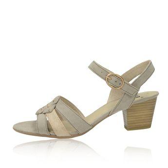 Jana dámské stylové sandály - béžové