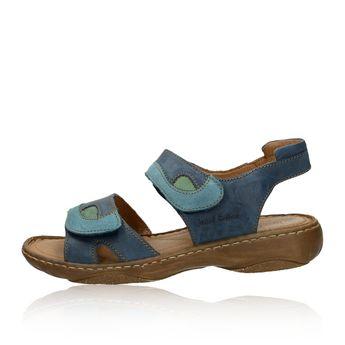 131f7f719c44 Josef Seibel dámské kožené sandály - modré