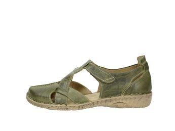Josef Seibel dámské sandály - zelené b57627de981