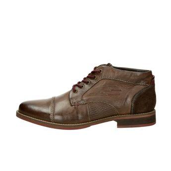 Klondike pánská kožená kotníková obuv - hnědá