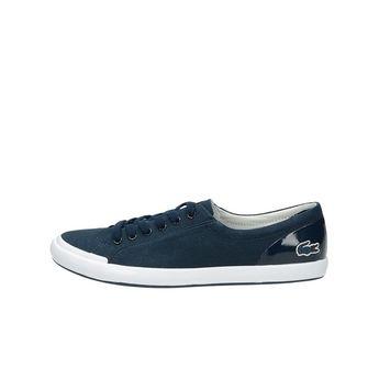 Lacoste dámské stylové textilní tenisky - modré 05ff4cb584
