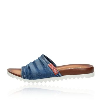Lanqier dámské stylové nazouváky - modré
