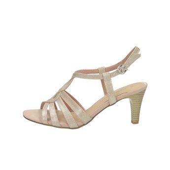 59bf2f24d2de Marco Tozzi dámské elegantní sandály na řemínek - růžové
