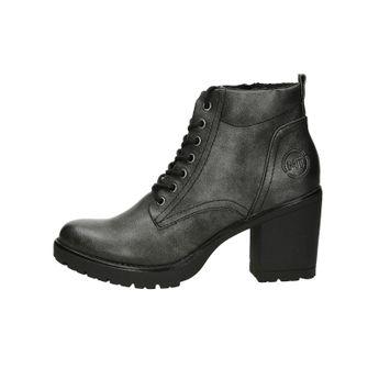 Marco Tozzi dámské kotníkové boty na zip - šedé