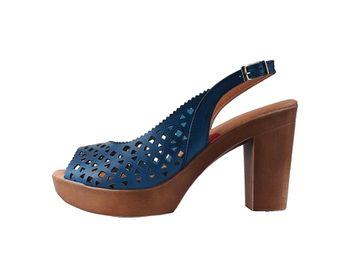 Marila dámské sandály - modré