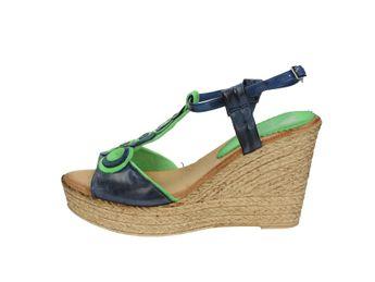 Marila dámské sandály - modrozelené