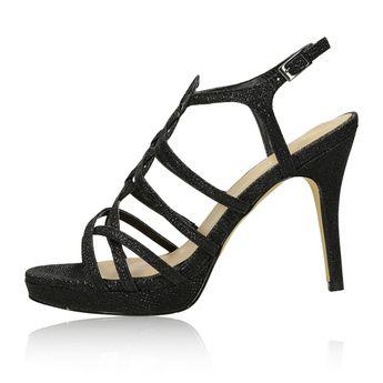 Menbur dámské společenské sandály - černé