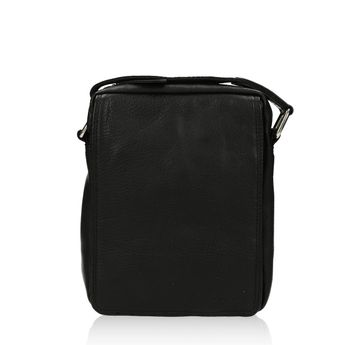 Mercucio pánská kožená taška - černá
