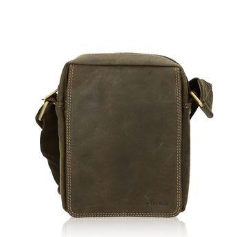 Mercucio pánská kožená taška - hnědá