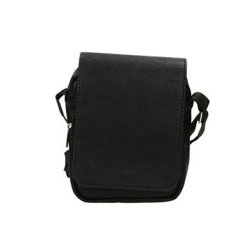Mercucio pánská stylová crossbody taška - černá
