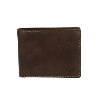 Metropoli pánská kožená peněženka - hnědá