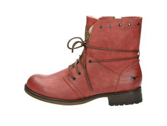 Mustang dámské zateplené kotníkové boty - červené Mustang dámské zateplené  kotníkové ... e64f69dbdd
