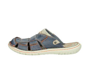 Mustang pánské pantofle/nazouváky - modré