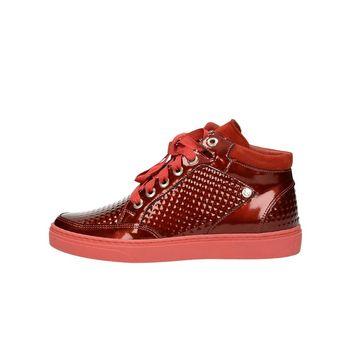NIK dámské kotníkové tenisky - červené baab7b0135
