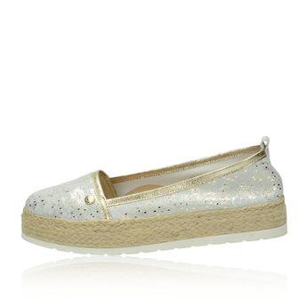 Olivia shoes dámské espadrilky na platformě - zlaté