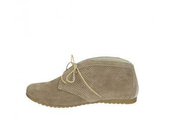 Olivia shoes dámské kotníkové boty - běžové