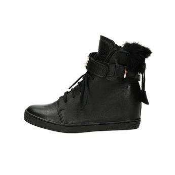 Olivia shoes dámské stylové kotníkové boty - černé c9abf5f322