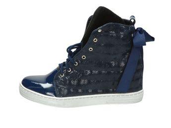 Olivia shoes dámské kotníkové boty - modré