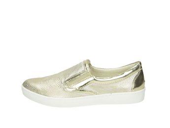 Olivia shoes dámské slip-on tenisky - zlaté