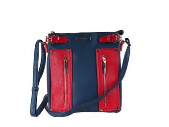 Pabia dámská kabelka - modro červená