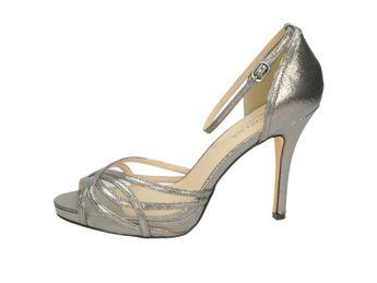 Pacomena dámské sandály - stříbrné