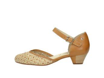 Pikolinos dámské kožené sandály - běžové