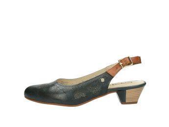Pikolinos dámské kožené sandály - modré