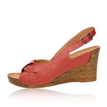 Pollonus dámské sandály - bordó