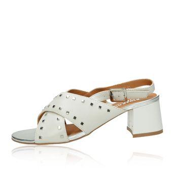 Regarde le ciel dámské stylové sandály - bílé