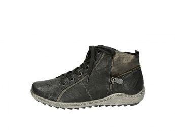 Remonte dámské kotníkové boty - černé