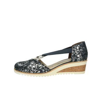 6a92314979b Remonte dámské stylové sandály s uzavřenou patou - tmavomodré