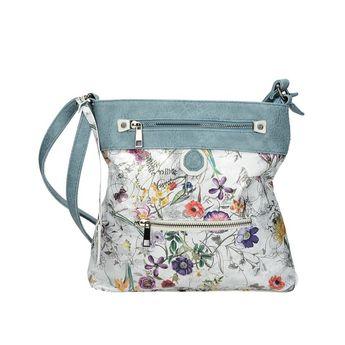 Rieker dámská stylová kabelka s květinovým motívem - multicolor