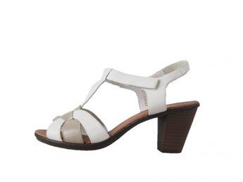 Rieker dámské sandály - bílé
