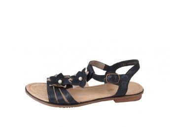 Rieker dámské sandály - černé