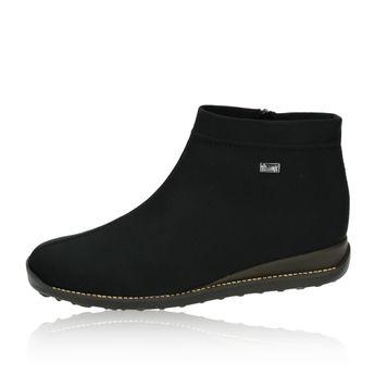 Rieker dámské kotníkové boty - černé